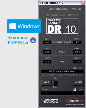 TT Dynamic Range Meter Windows