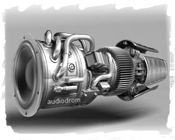 Subwoofing-jet-engine